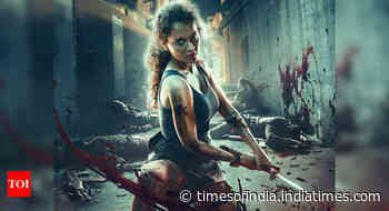 Kangana unveils new poster of Dhaakad
