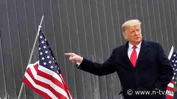 Auch sich selbst?: Trump will über 100 Menschen begnadigen