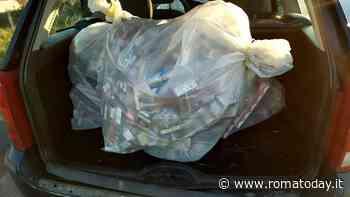 Pontina, abbandona l'auto dopo incidente: nascondeva 15mila euro di sigarette