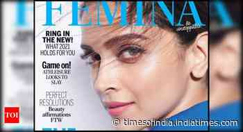 Deepika stuns on the cover page of Femina