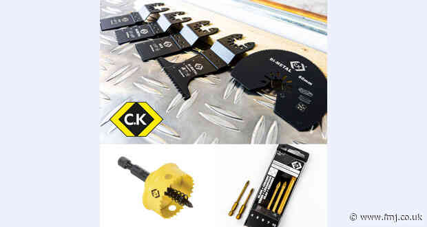 C.K launches cutting edge power tool accessories