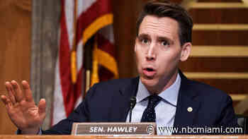 More Backlash for GOP's Hawley After Capitol Riot as Florida Hotel Cancels Event