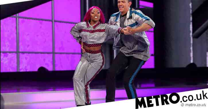 Dancing on Ice: Lady Leshurr responds to viewer backlash about being in skate-off: 'I can't be upset'