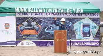 Arequipa: escolares de zonas rurales de Yura tendrán internet gratuito - LaRepública.pe