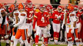 Las lecciones que dejó el triunfo de Chiefs sobre Browns en Ronda Divisional - ESPN Deportes