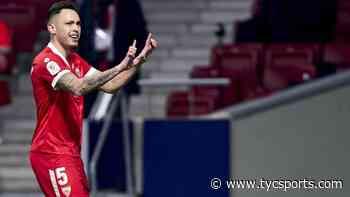 Lucas Ocampos le dio el triunfo a Sevilla en la Copa del Rey - TyC Sports