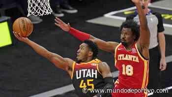 Donovan Mitchell lidera el triunfo de los Utah Jazz ante los Atlanta Hawks - Mundo Deportivo