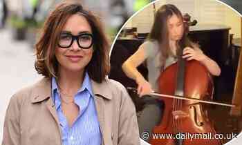 'We're really, really loud!' Myleene Klass reveals she 'bribed her neighbours with chocolate'