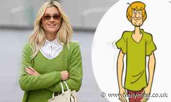 Ashley Roberts compares her look to Scooby Doo's Shaggy