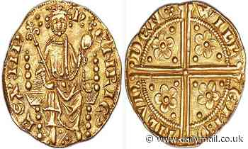 One of England's 'first ever' gold coins that dates back to 1257 expected to sell for over £700k