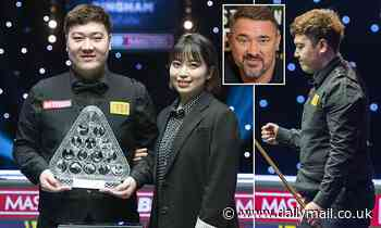 Stephen Hendry accused of stereotyping after saying Chinese players suffer 'system failures'