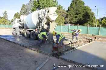Comenzaron las obras para recuperar la plaza La Amistad de Tortuguitas - Que Pasa Web