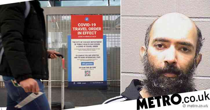Man 'scared of Covid' managed to live in airport for three months without being found