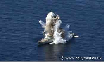 A sad end for HMS Active, sunk in Pakistan navy drill
