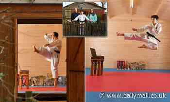 Karate kid, 12, wins international competitions from bottom of his garden