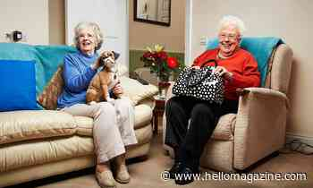 Gogglebox fans delighted as favourites Mary and Marina receive coronavirus vaccine - see picture