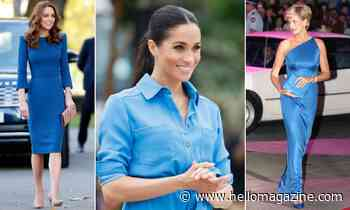What January blues? These royals rock the colour in the best way ever