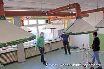Realschule plus Am Reichswald: Drei Säle mit Lüftungsanlage ausgestattet - Wochenblatt-Reporter