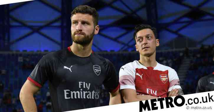 Shkodran Mustafi appears to take swipe at Arsenal over Mesut Ozil exit