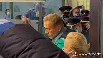 Bundesregierung empört: Nawalny in Russland zu Haft verurteilt