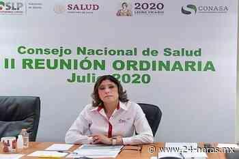 Se va secretaria de Salud de San Luis Potosí - 24 HORAS