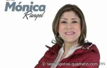 Mónica Rangel buscará candidatura de Morena - Noticias de San Luis Potosí - Quadratín San Luis