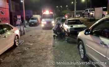 Asesinan a hombre en la avenida Salvador Nava - El Universal