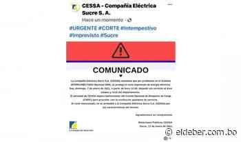Problemas en el SIN dejan sin energía eléctrica a Chuquisaca, Potosí y Tarija - EL DEBER