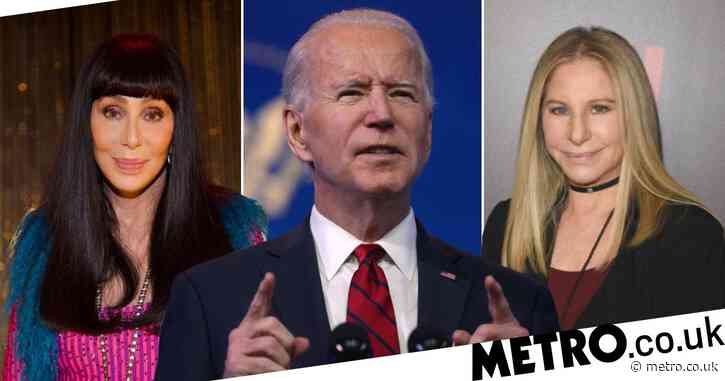 Cher and Barbra Streisand praise Joe Biden as they headline virtual concert We The People: 'This is your time'
