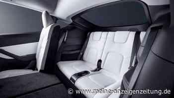 Dritte Sitzreihe im Tesla Model Y: Ganz schön eng – so wenig Platz haben Fahrgäste (mit Video)