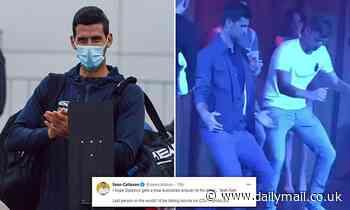 Covid Australia: Novak Djokovic slammed after quarantine 'demands'