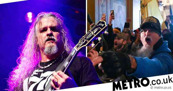 Iced Earth guitarist arrested for storming US Capitol