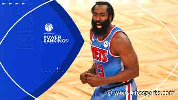 NBA Power Rankings: James Harden fuels Nets' big jump, but Lakers look unbeatable; struggling Heat plummet
