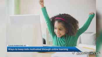 Ways to keep kids motivated through online learning