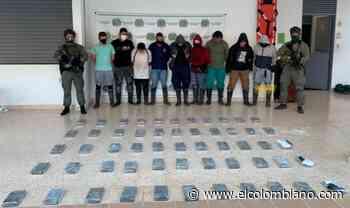 Nueve capturados en sofisticado laboratorio de drogas en Sopetrán - El Colombiano