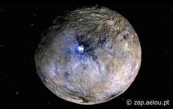 """Resolvido """"mistério azul"""" de Ceres, o planeta anão - ZAP"""