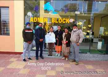Online contest marks Army Day - The Tribune India