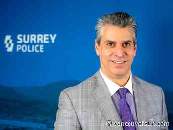 Anti-gang Mountie joins Surrey police force as deputy chief
