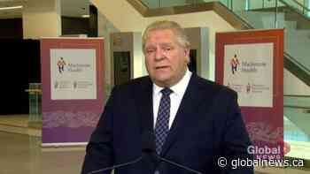 Coronavirus: Ontario to provide $125 million to add over 500 critical care beds in pandemic hot-spots