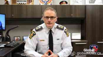 Coronavirus: London, Ont., police chief addresses enforcement concerns over province's stay-at-home order