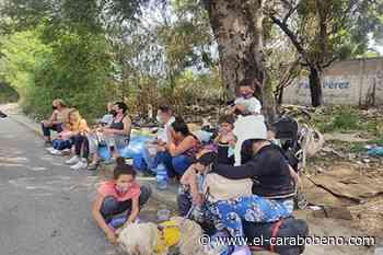 Varados en San Antonio del Táchira: el terminal fue cerrado - El Carabobeño