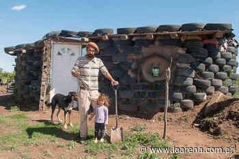 Una casa construida con ruedas en el Nuevo Salitral - La Pampa La Arena