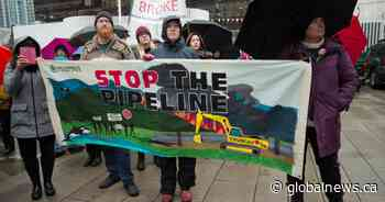 79-year-old protestor arrested at Trans Mountain pipeline expansion blockade