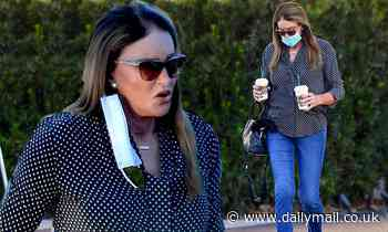 Caitlyn Jenner and friend go for coffee amid Sex and the City rumors