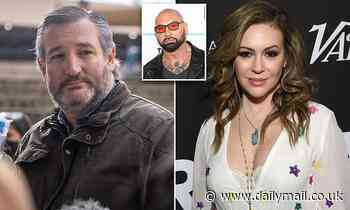 Alyssa Milano and stars share petition to Expel Ted Cruz from Senate