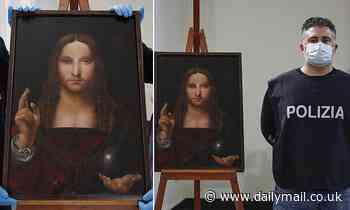 Da Vinci 'Salvator Mundi' painting stolen from Naples basilica is found in a local flat