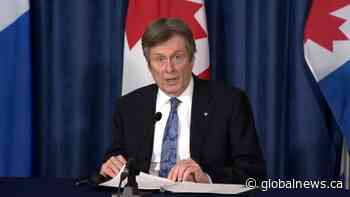 Coronavirus: Tory hails progress of vaccine delivery in Toronto care homes