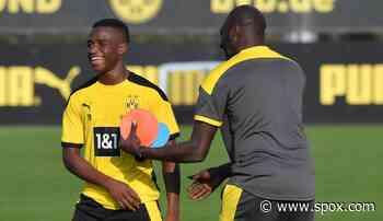 "BVB-Jugendtrainer Otto Addo lobt Youssoufa Moukoko nach Derby-Eklat: ""Super damit umgegangen"" - SPOX.com"