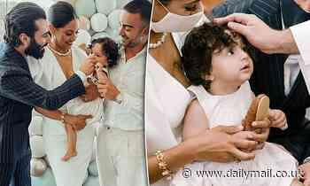 Gogglebox: Sarah Marie and Matty Fahd celebrate baby Malik's christening