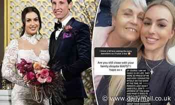 Former MAFS star Aleks Markovic says family didn't want to support 'fake' TV wedding